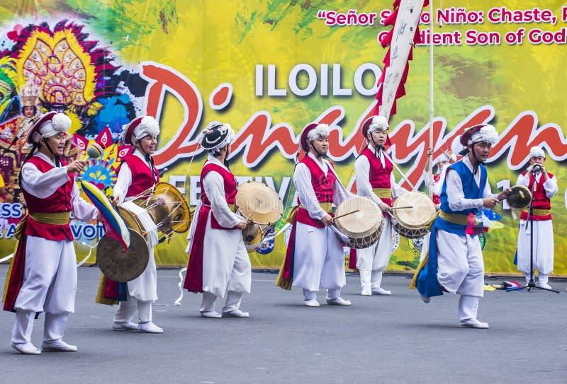 2018 Dinagyang festiwal zdjęcie royalty free