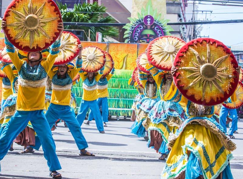 2018 Dinagyang festiwal obraz stock