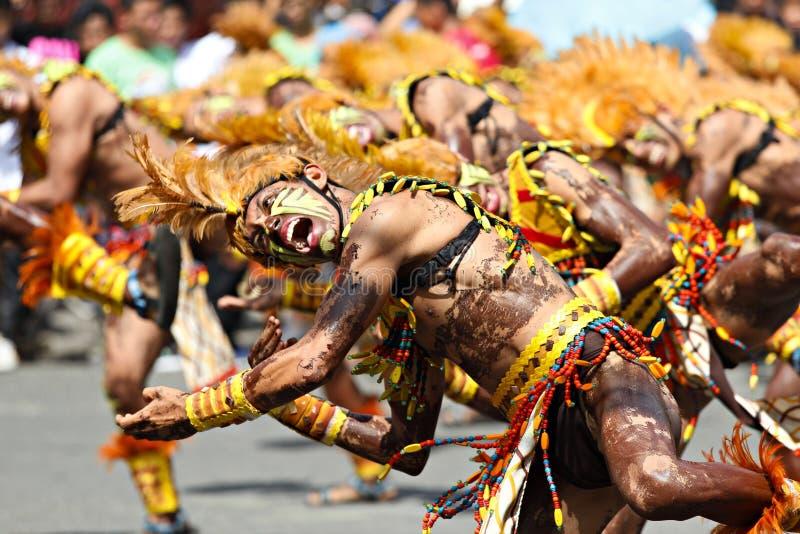 Dinagyang festiwalu Mohawk obrazy stock