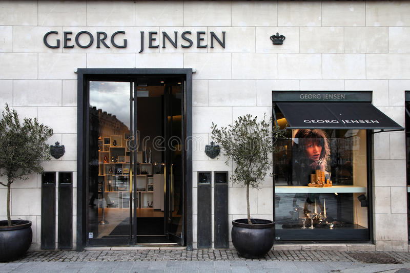 Dinamarca - Jorge Jensen imagenes de archivo