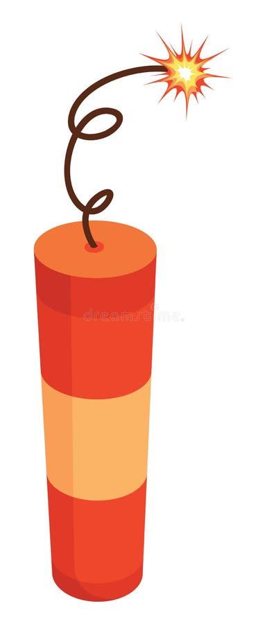 Dinamita stock de ilustración