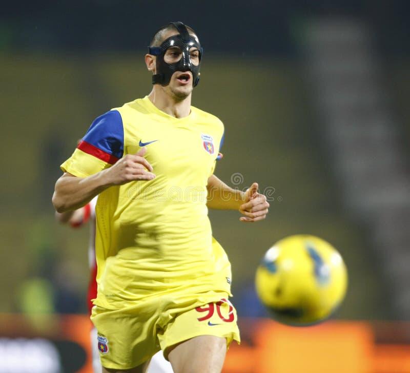 Dinamo Bucareste - Steaua Bucareste imagens de stock