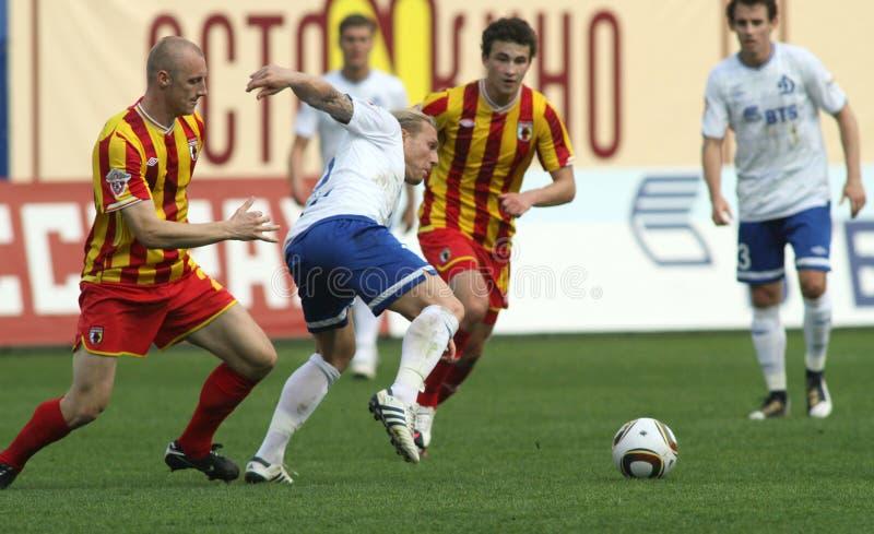 Download Dinamo (Moscow) Beats Alania (Vladikavkaz) - (2:0) Editorial Photo - Image: 14856861