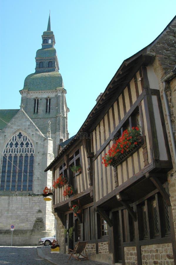 dinan Франция стоковые изображения