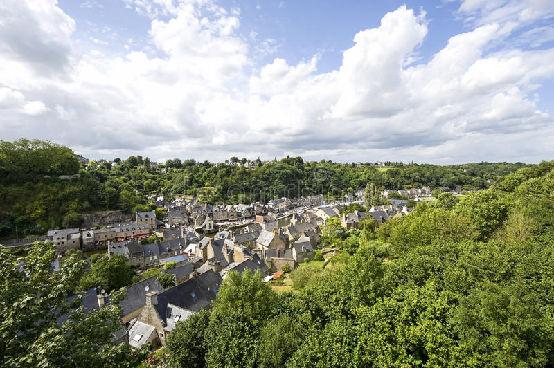 Download Dinan stock photo. Image of scenic, europe, ancient, panoramic - 26970276