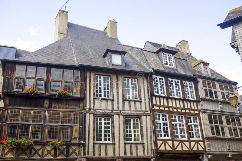 Download Dinan stock photo. Image of traditional, cityscape, ancient - 27033286
