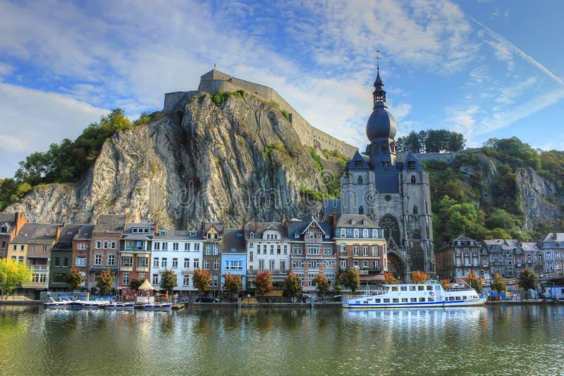 Dinant Belgien royaltyfri bild