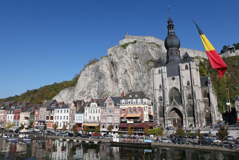 Dinant en Belgique photos stock