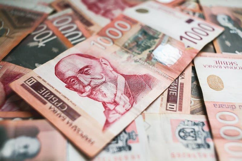 1000 dinar arkivbild