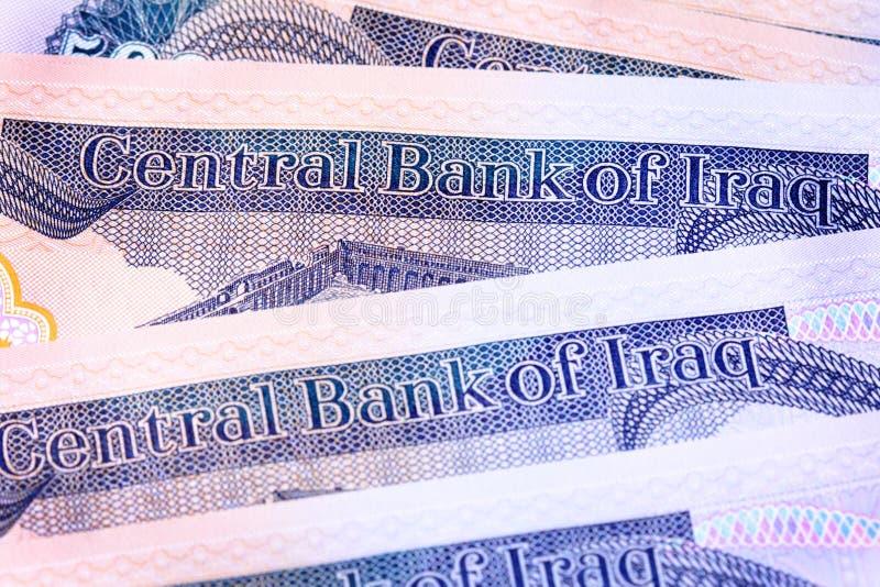 dinar nya iraq royaltyfri foto