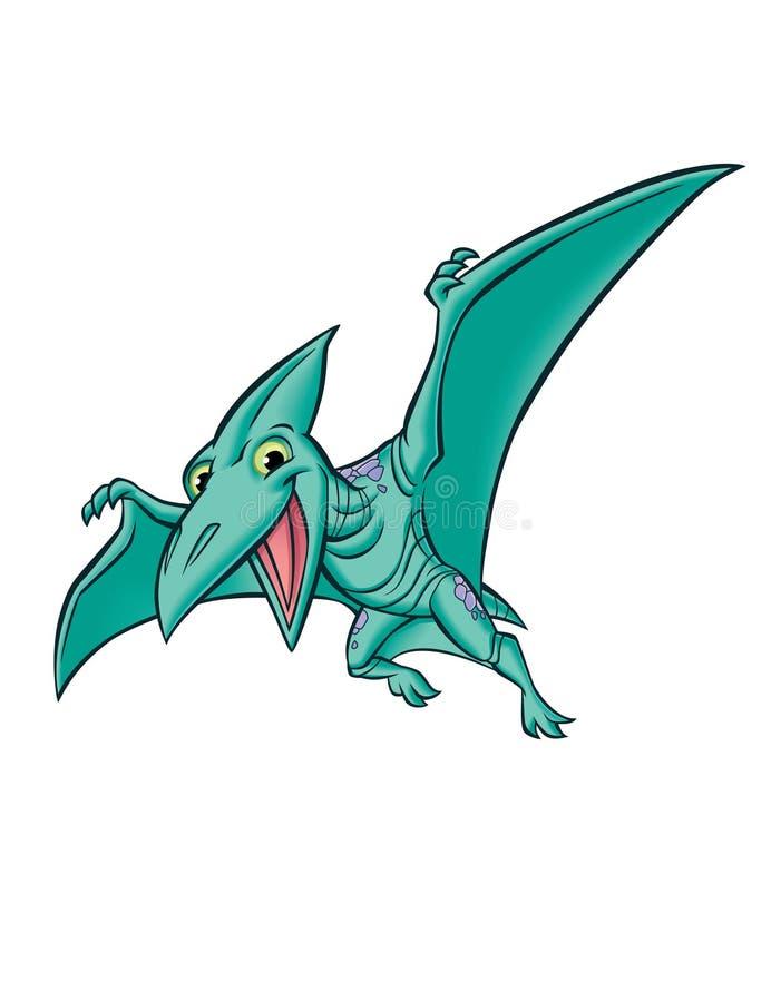 Dinausaur del pterodáctilo libre illustration
