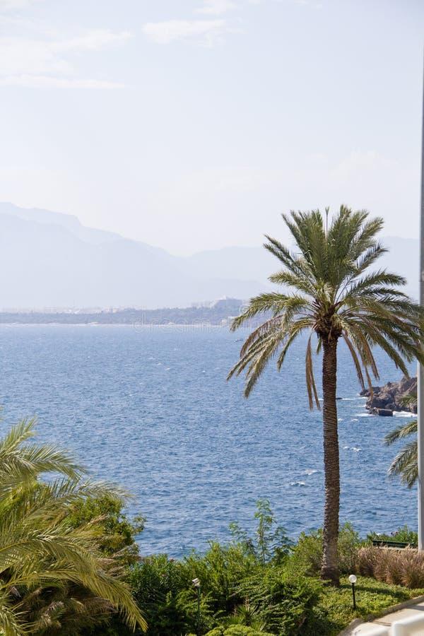 Dinde d'Antalya de plage de mer photo stock