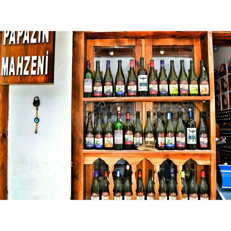 Dinde de mur de vin images stock