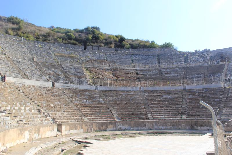 Dinde Selcuk d'Artemis Ephesus image libre de droits