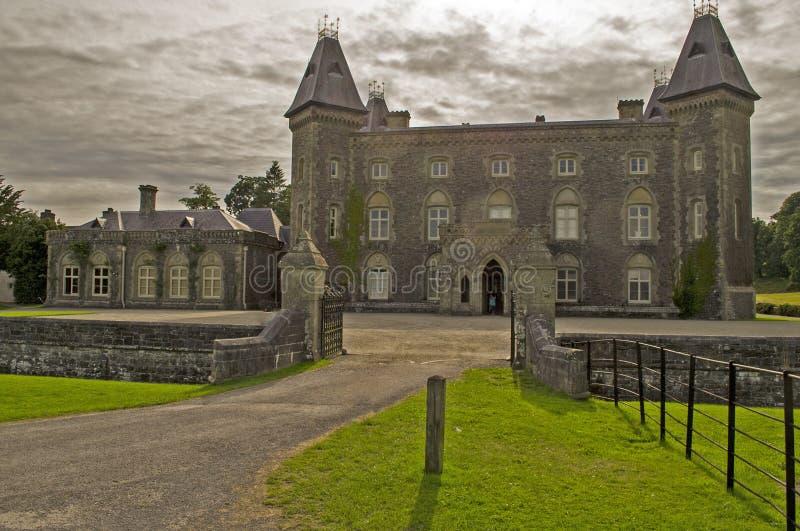 Dinefwr park3 da casa de Newton foto de stock royalty free