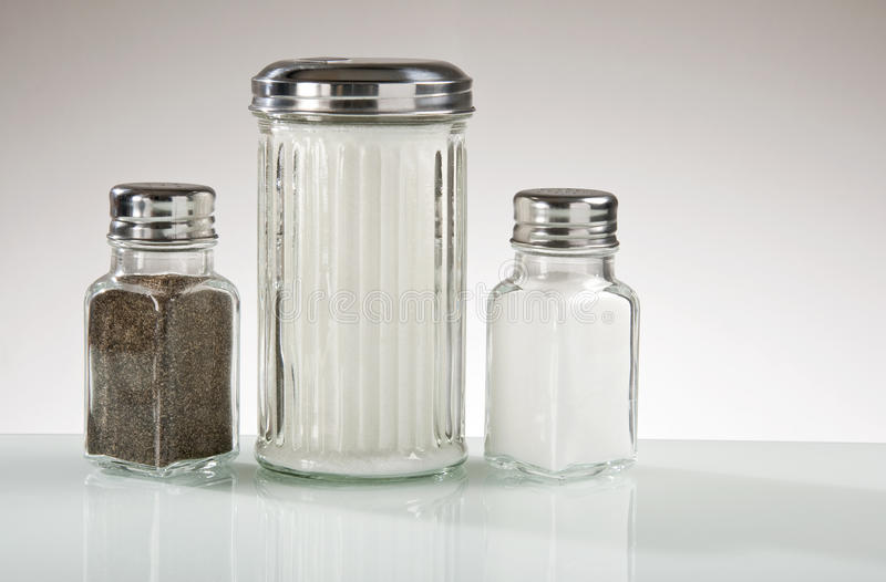 Download Diner Counter Condiments Stock Photo - Image: 21714090
