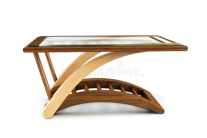 diner la table moderne en verre illustration libre de droits