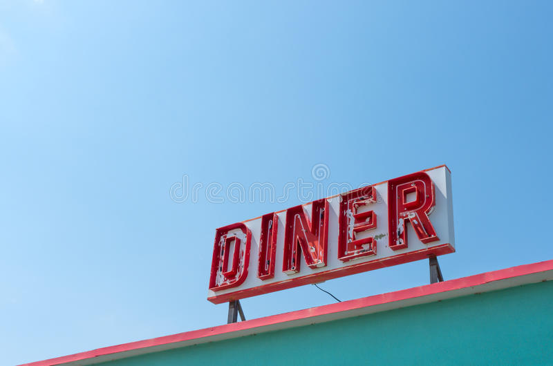 Diner royalty free stock images