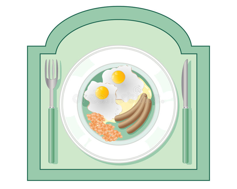Diner sign stock illustration