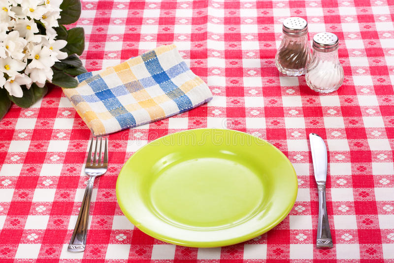 Download Diner table stock photo. Image of blue, dish, kitchen - 19575424