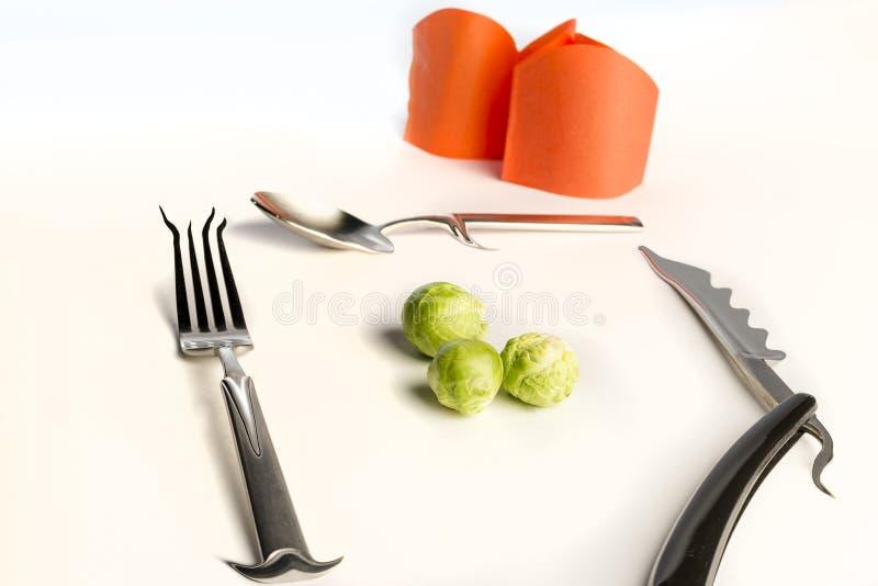 Diner voor royalty-vrije stock afbeeldingen