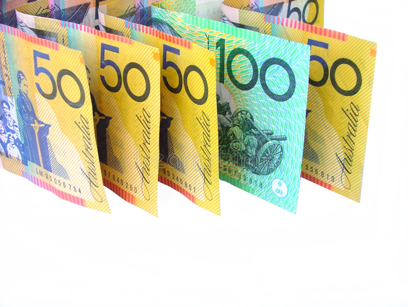 Download Dinero australiano foto de archivo. Imagen de notas, ahorros - 179546