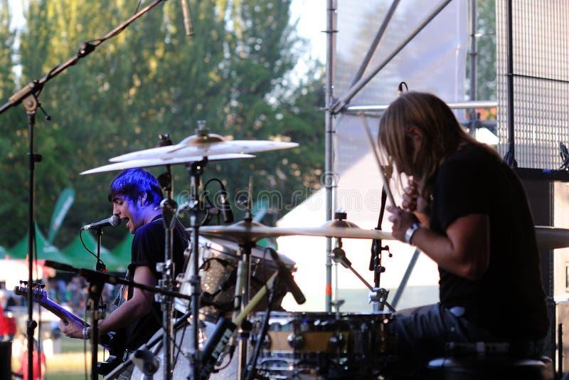 Download Dinero Band Performs At Complejo Deportivo Cantarranas Editorial Stock Image - Image: 30619709
