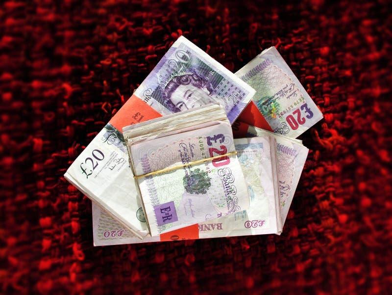 Dinero BRITÁNICO imagenes de archivo