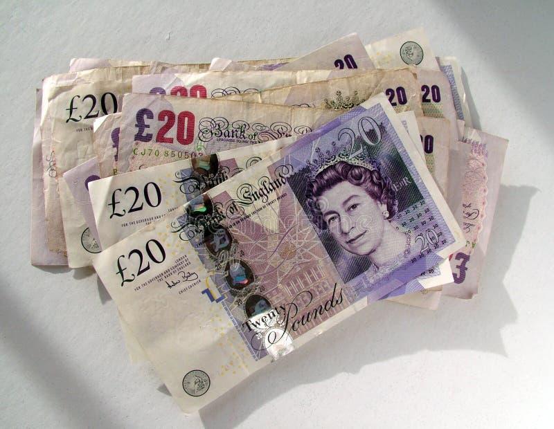 Dinero BRITÁNICO foto de archivo