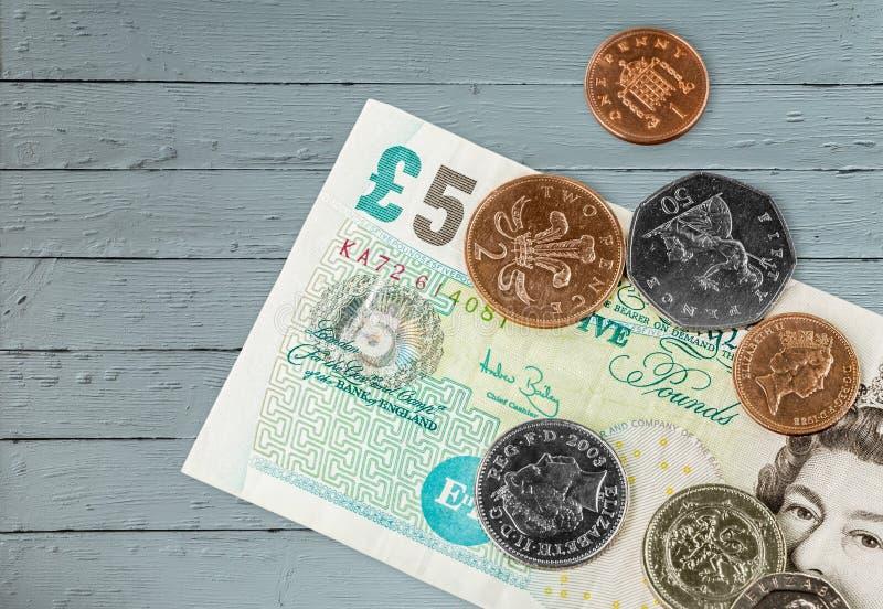 Dinero BRITÁNICO imagen de archivo