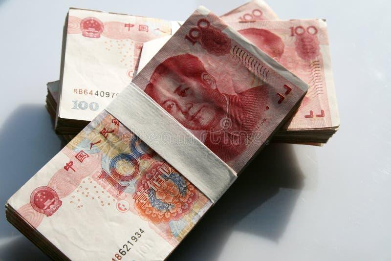 Dinero chino imágenes de archivo libres de regalías