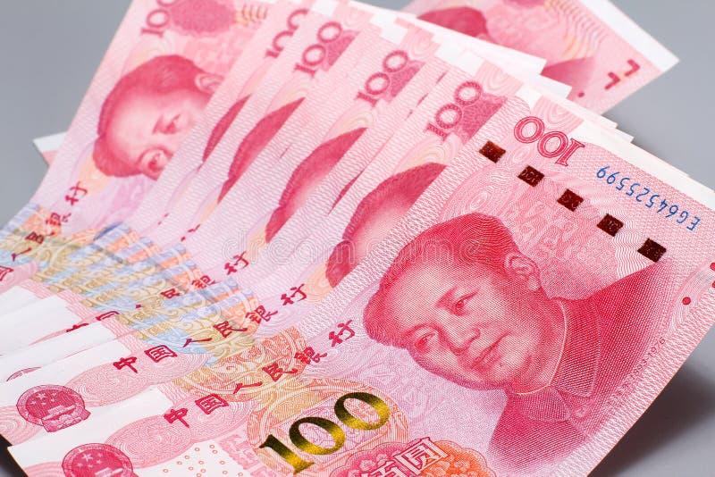 Dinero chino RMB foto de archivo libre de regalías
