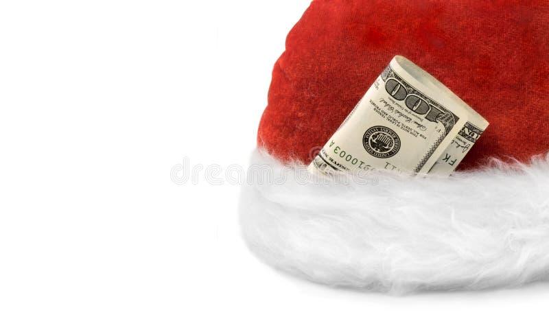 Dinero Christmas& nuevo Year-3 rico fotografía de archivo libre de regalías