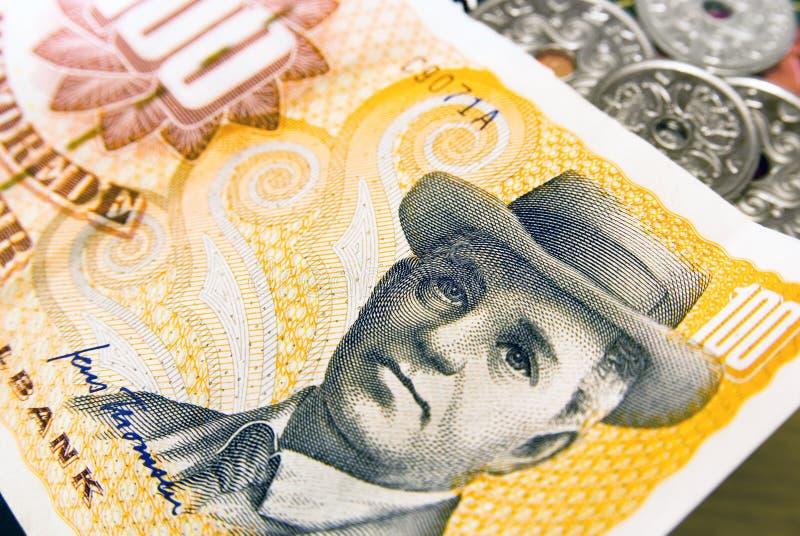 Dinero danés foto de archivo