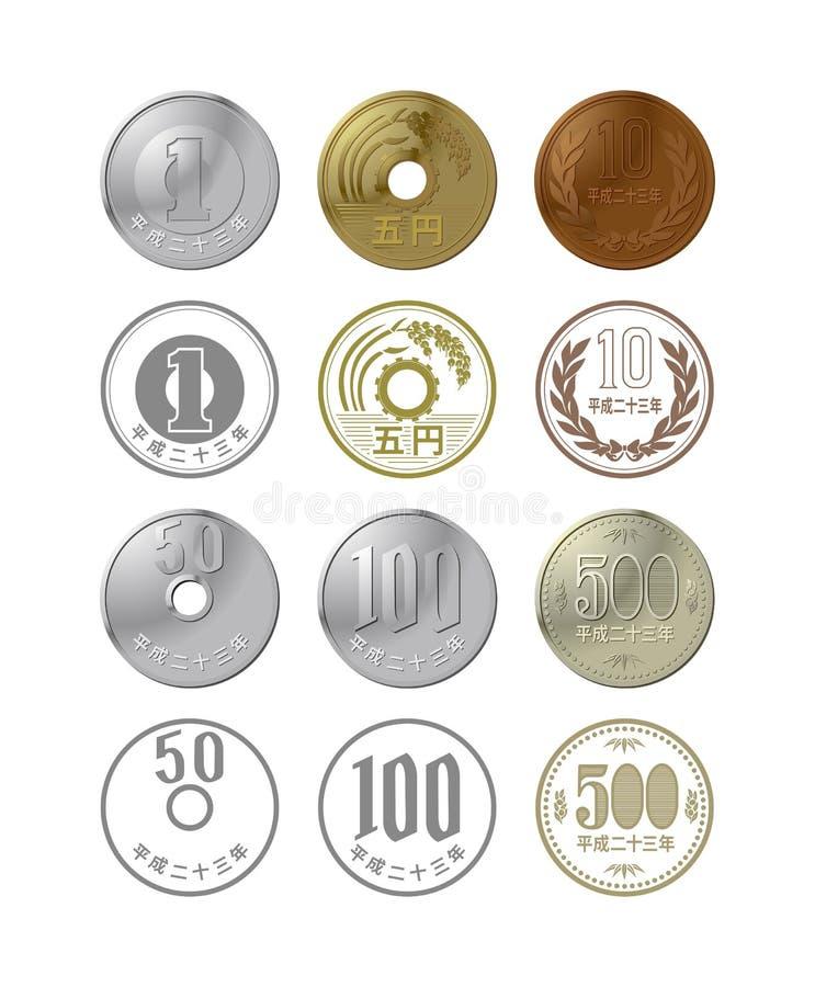 Dinero de Japón stock de ilustración
