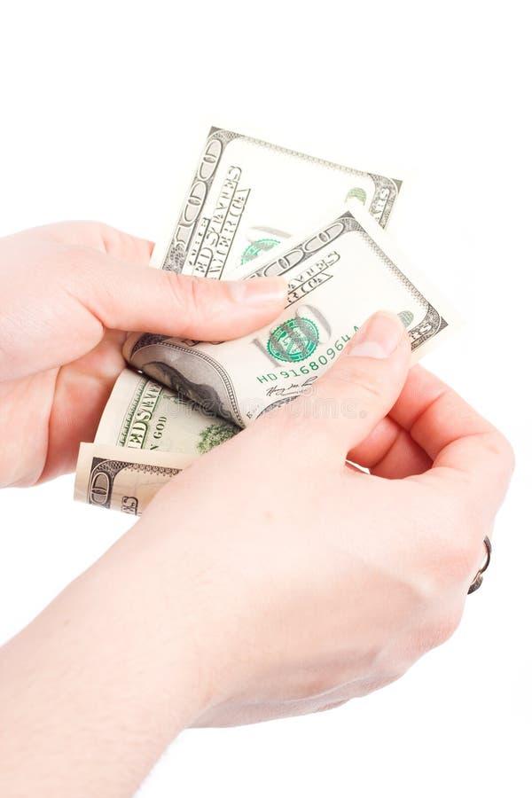Dinero de la cuenta fotos de archivo libres de regalías