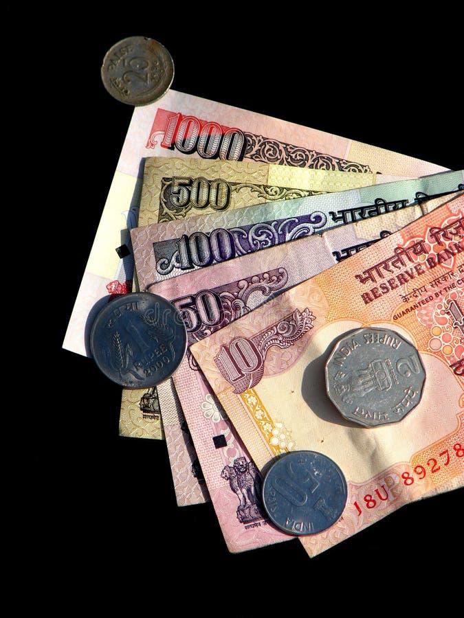 Dinero de la India foto de archivo libre de regalías