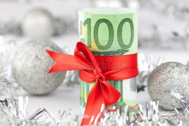 Dinero de la Navidad imágenes de archivo libres de regalías