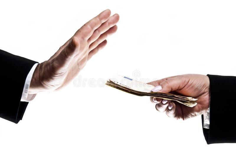 Dinero de la toma imagen de archivo libre de regalías