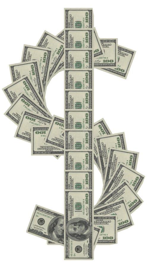 Dinero de las muestras de dólar imágenes de archivo libres de regalías