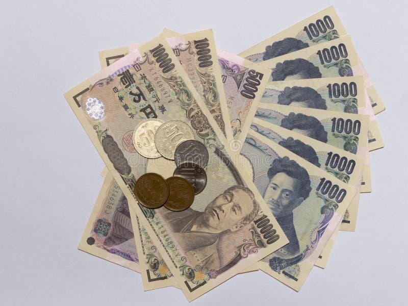 Dinero 8 de los yenes japoneses imagen de archivo