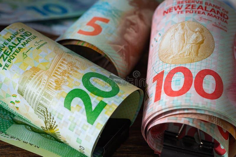 Dinero de Nueva Zelanda imagen de archivo libre de regalías