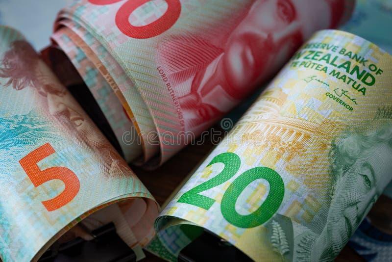Dinero de Nueva Zelanda foto de archivo libre de regalías