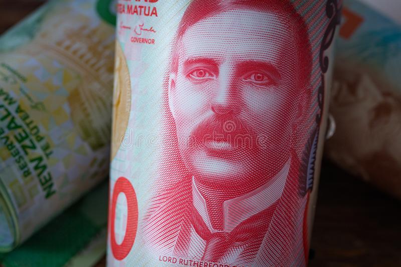 Dinero de Nueva Zelanda imagen de archivo