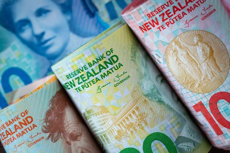 Dinero de Nueva Zelanda fotos de archivo libres de regalías