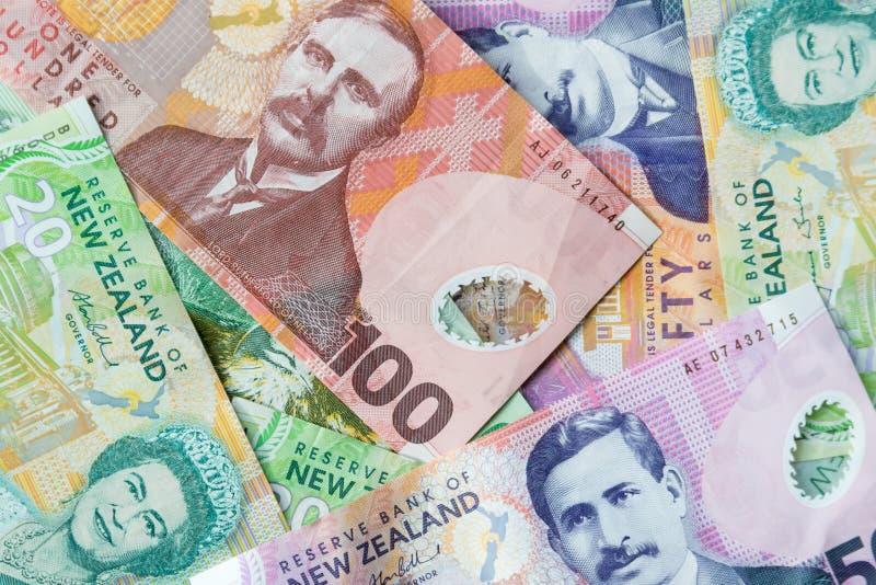 Dinero de Nueva Zelanda fotografía de archivo libre de regalías