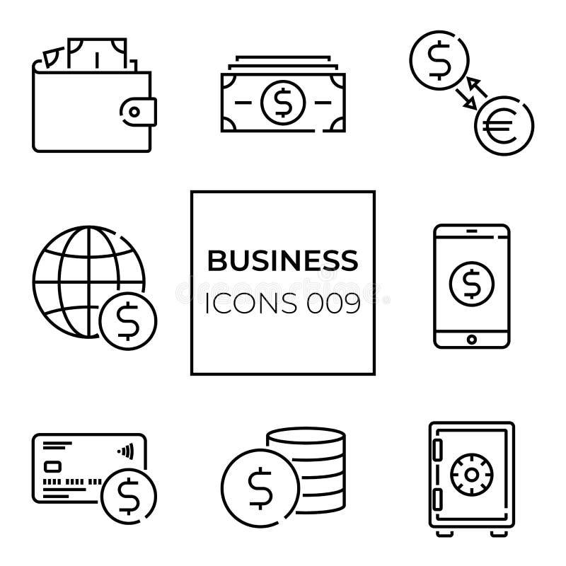 Dinero de Webicon fotografía de archivo libre de regalías