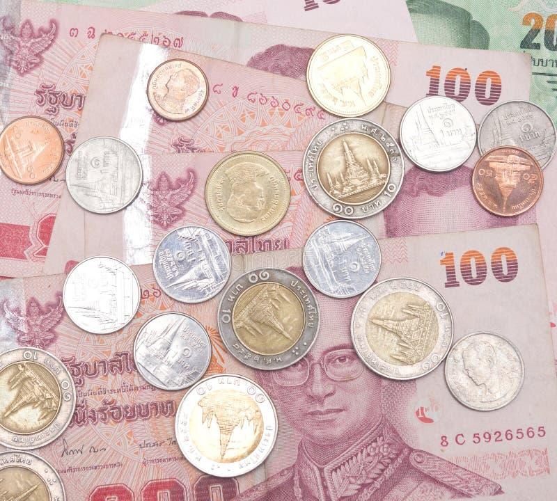 Dinero del reino de Tailandia fotos de archivo