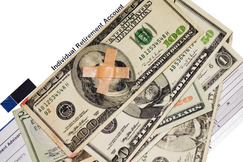 Dinero e inversiones imagen de archivo