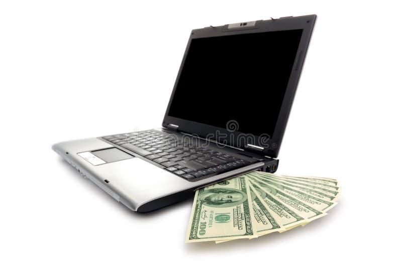 Dinero electrónico fotos de archivo